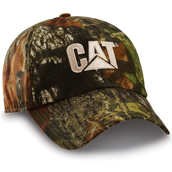 Picture of CAT Mossy Oak Break-Up Cap