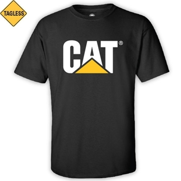 Picture of CAT Black T-Shirt