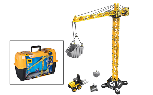 Picture of CAT Apprentice Tower Crane  Fork Lift