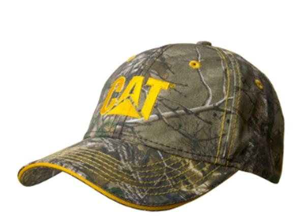 Picture of Camo Cap With Contrast Stitch