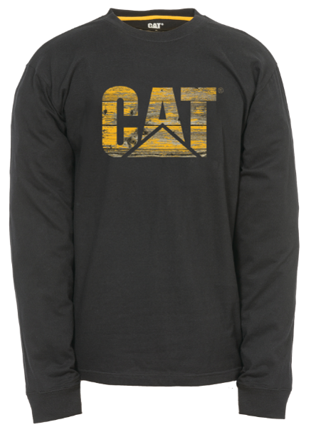 Picture of Distressed Wood Custom Logo Long Sleeve
