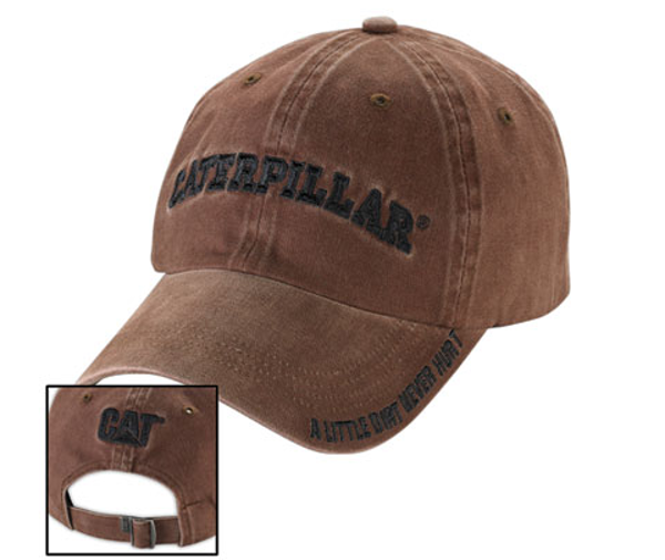Picture of Dirt Brown Cap *Made to Order*