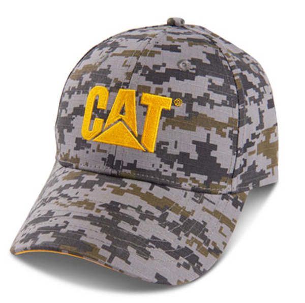 Picture of Digi Camo Cap w/Yellow Logo
